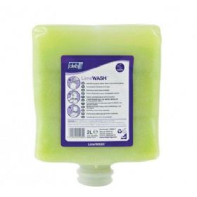 DEB Lime Hand Cleaner 2L & Dispenser